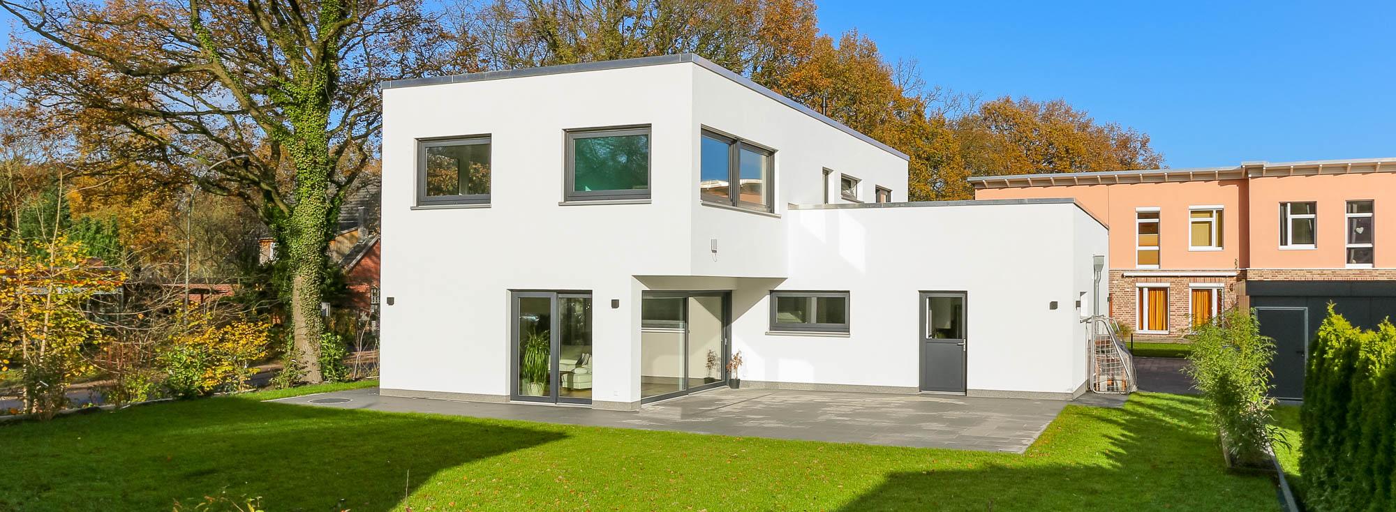 Bauhaus modern classic h user im bauhausstil for Bauhaus bauen